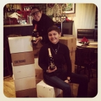 1st Cava shipment on arrival many moons ago